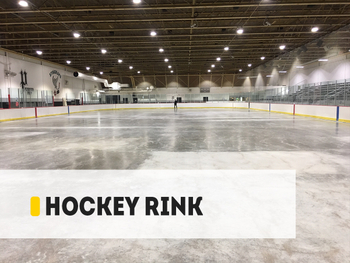 【Project】200W OH High Bay Hockey Rink Installation