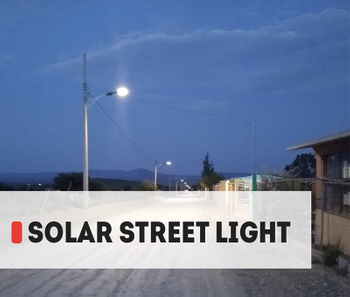 【Project】AOK Solar LED Street light installation in Mexico