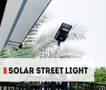 【Project】15w SE solar LED street light installation